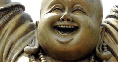 Somebody stolen Buddha – That Is Really Bad Karma!