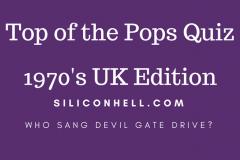 Quiz top of the Pops 1970s