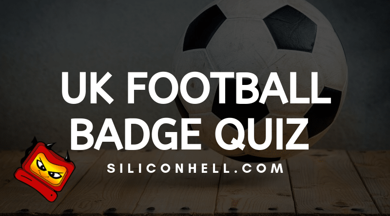 UK Football Badge Quiz