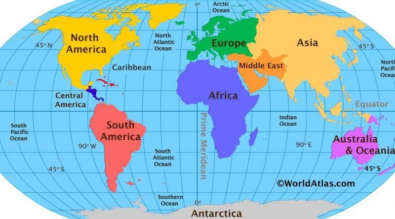 Geography quiz questions with Answers