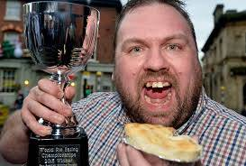 Wigan pie eater