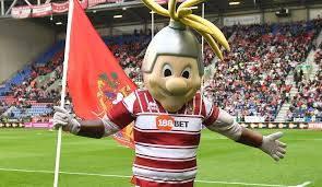 Wigan Warriors Mascot