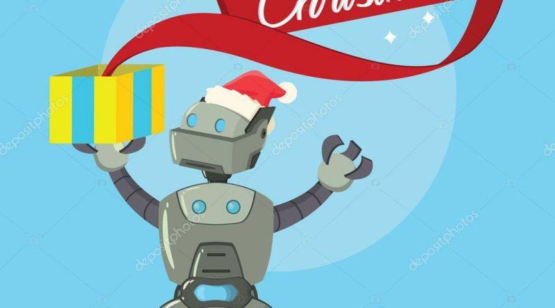FP robot Merry Xmas