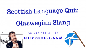 Glaswegian language quiz