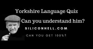 SH Yorkshire Language Quiz