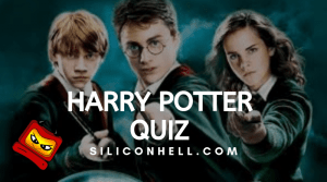 New Harry Potter quiz