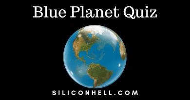 Blue Planet Quiz