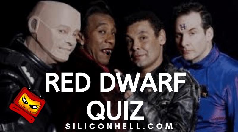 New Red Dwarf Quiz