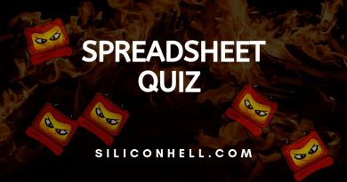 Spreadsheet quiz