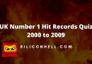 UK Number 1 Hit Records Quiz 2000 to 2009