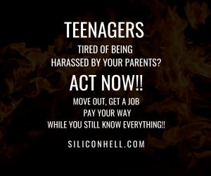 Teenagers Revolt