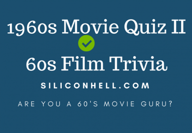 1960s Movie Quiz II