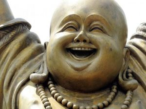 Somebody stolen Buddha – That Is Really Bad Karma!