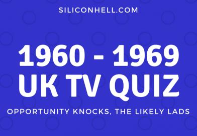 Quiz - 60s British TV Quiz - The Saint, Eric Sykes,