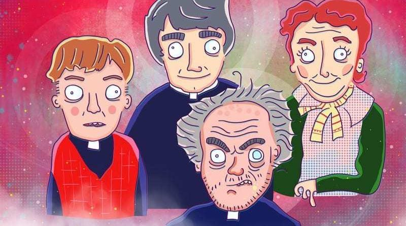 FP father ted illustration by ed clews