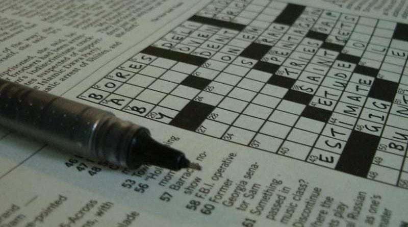 FP quiz crossword