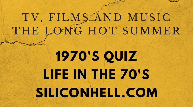 SH Life in the 1970s Quiz