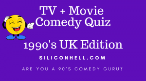 Siliconhell 1990s comedy quiz
