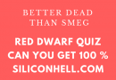 Red Dwarf Quiz 2019
