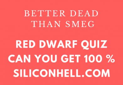 Red Dwarf Quiz 2019