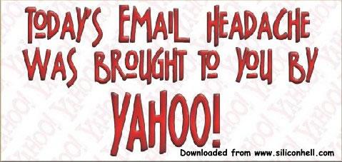 Email headache