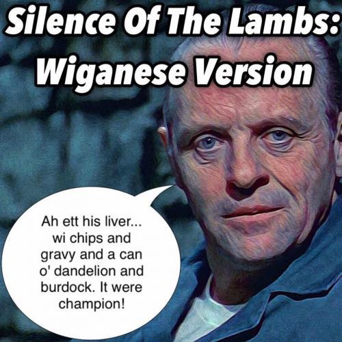 Wigan Silence of the Lambs