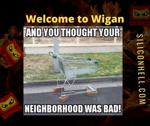Welcome to Wigan